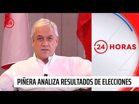 Sebastian Piñera analiza resultados de primera vuelta
