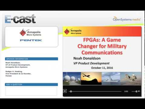 FPGAs: A Game Changer for Military Communications
