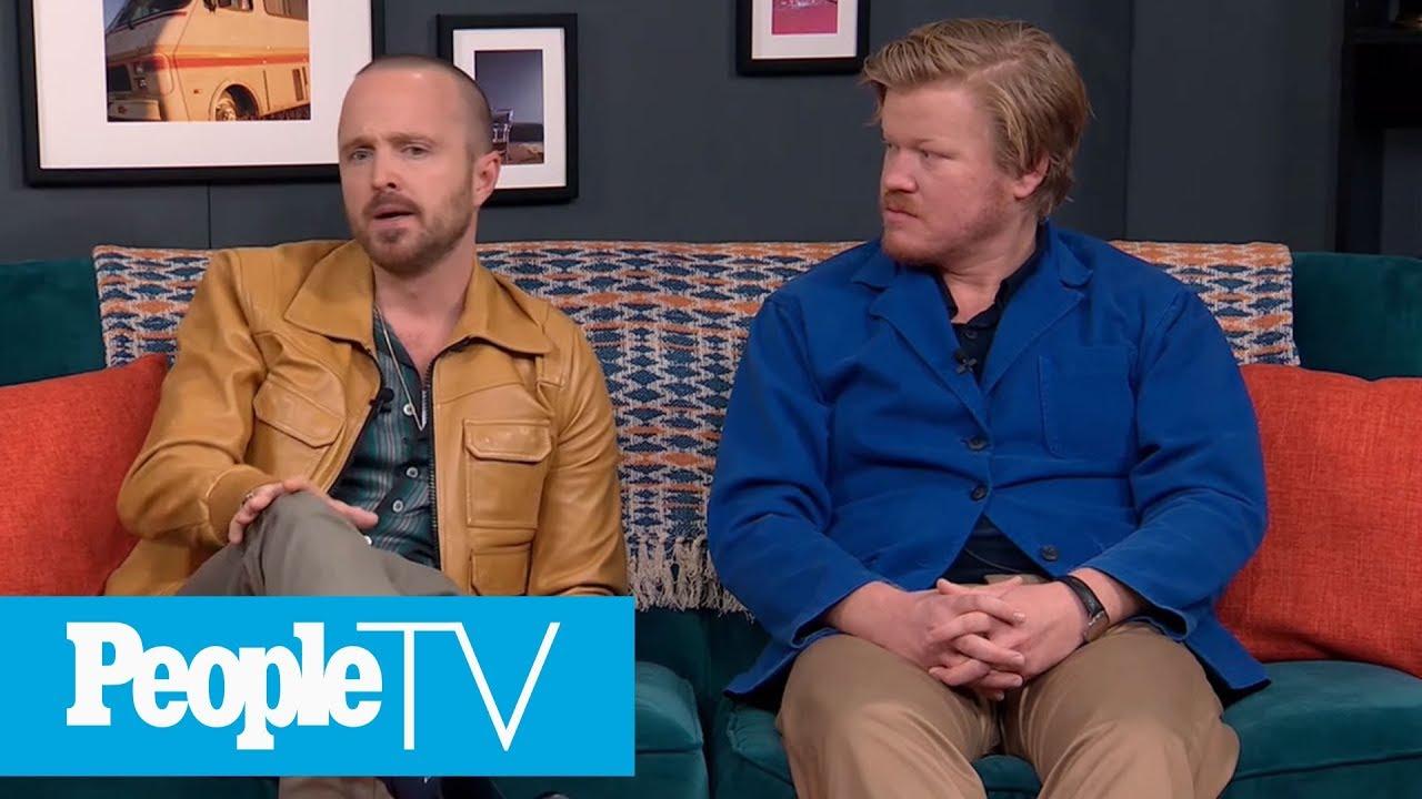 Aaron Paul & Jesse Plemons On Shooting A Pivotal 'El Camino' Scene | PeopleTV
