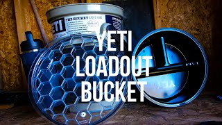 YETI LOADOUT BUCKET and accessories