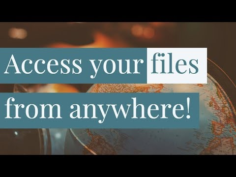Access Your Computer from anywhere on the Internet!