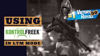USING KONTROL FREEKS IN LTM MODE - THIS MODE'S SO FUN - FORTNITE BATTLE ROYALE