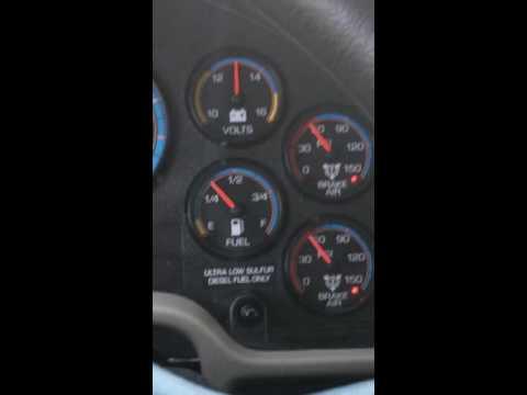 Cdl class b air brake test on an automatic