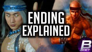Mortal Kombat 11: AFTERMATH ENDING(S) EXPLAINED! (Story Mode DLC)