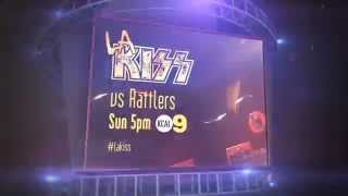 LA KISS vs. Arizona Rattlers Promo on KCAL9
