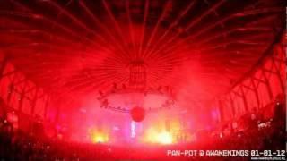 Pan-Pot FIREWORKS @ Awakenings 01-01-2012 Gashouder Amsterdam