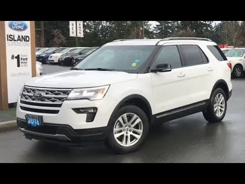 2018 Ford Explorer XLT W/ Heated seats, Backup Camera, AWD Review| Island Ford