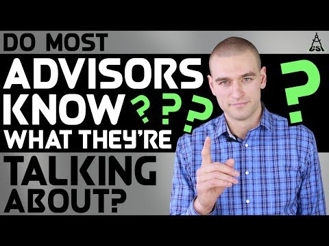 Do Most Financial Advisors Know What They're Talking About?