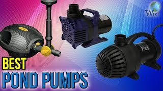 10 Best Pond Pumps 2017