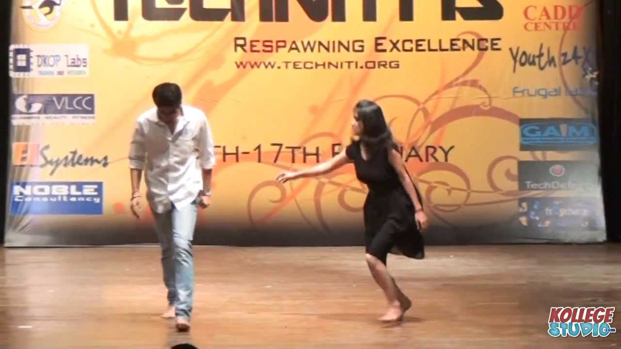 Exclusive first ever Blind Couple Dance at NITJ Official T'13