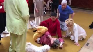 Rolling Hui Chun Gong With Madame Mok Chong Meng