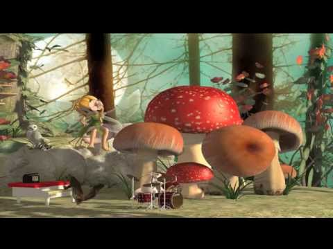 Animation film made with Poser Pro, Cartoon Classic Music La Traviata