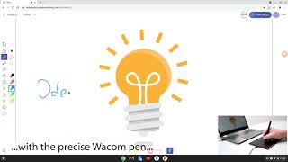 Start using Explain Everything with One by Wacom and Chrome