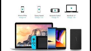 Павербанк AUKEY PB-Y7 - умеет заряжать MacBook (PD до 30W)