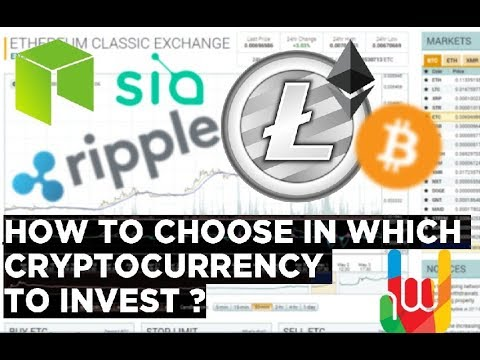 How I Choose a Cryptocurrency to Invest