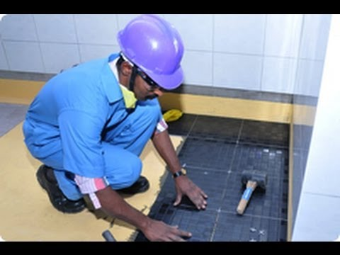 Sobha Home Truths Demo - Tiling