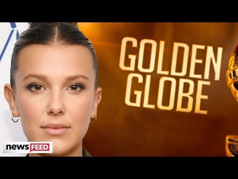 Millie Bobby Brown SKIPS OUT On 2020 Golden Globes!