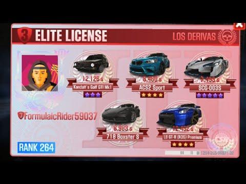 CSR 2 Elite License 3 Tempest Time Trial Races
