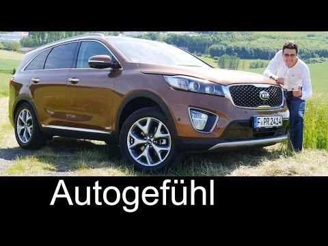 All-new Kia Sorento 2016 FULL REVIEW test driven – Autogefühl