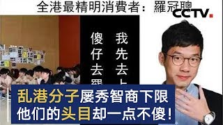 乱港分子屡秀智商下限  他们的头目却一点不傻!| CCTV