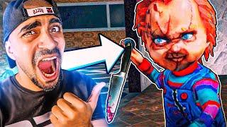 الدمية المرعبة تشاكي لحقتني 😱🔥 - Chucky
