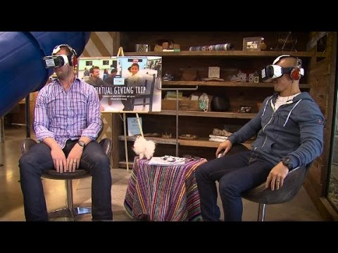 Virtual reality is changing in the face of shopping