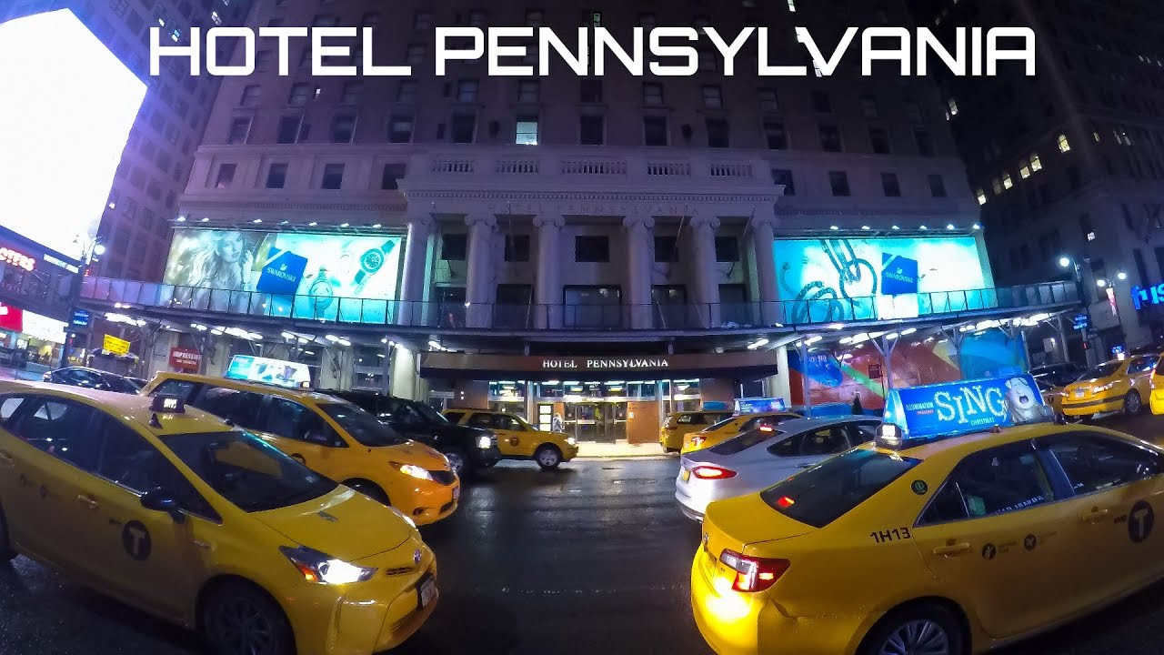 Hotel Pennsylvania New York To Times Square