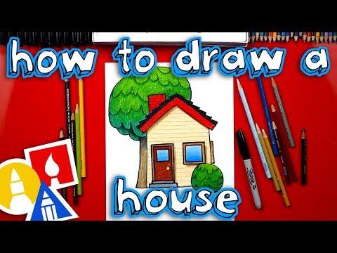 How To Draw A House Emoji 🏡