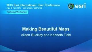 Esri 2013 UC Tech Session: Making Beautiful Maps