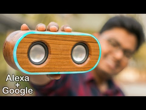 How I Made My Own Smart Speaker Google + Alexa - Under $30