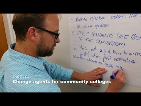 SAGE 2YC: Change agents for community colleges