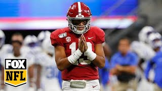 Peter Schrager talks Tua, the NFL Draft with Erin Andrews & Charissa Thompson  | FOX NFL