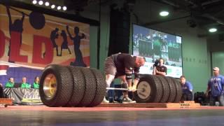Brian Shaw Ties World Record Deadlift... 1128 Pound Deadlift