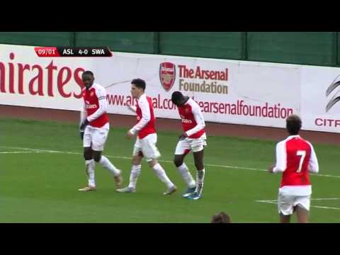 Highlights: Arsenal U18s 5-2 Swansea U18s