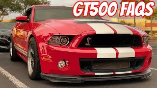 What you should know when buying 07-14 Shelby GT500 FAQ