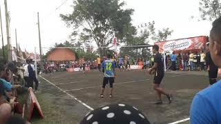 Warmingup pemain tni al jakarta vs eki cs di pakuwojo cup bantang
