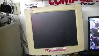 Testing a 2001 ViewSonic VA800 LCD Monitor
