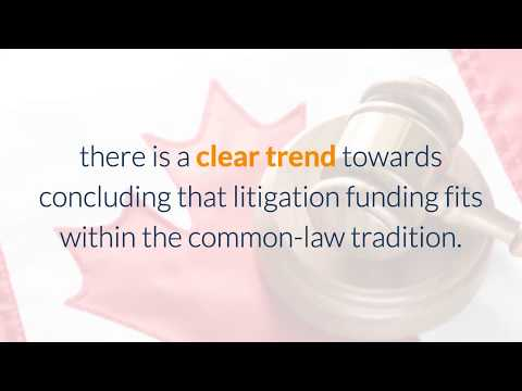 Litigation Funding Gaining Acceptance in Canada