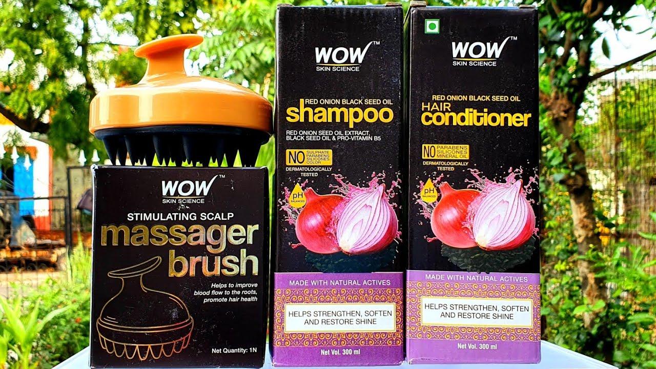 बालों को डीप क्लीन करें हेड मसाजर की सहायता से | Wow onion haircare routine | RARA |