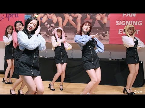 Fancam - 에이프릴(APRIL) Oh-e-Oh - 181020 Fan Sign 팬사인회