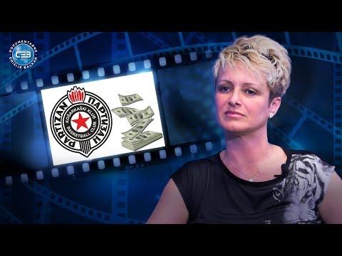 BALKAN INFO: Jelica Dabović - Partizan mi nikada nije platio sav novac po ugovoru!
