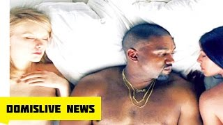 Kanye West Releases Famous Video with Nude Taylor Swift, Trump, Rihanna, Kim K, Ray J, Amber Rose,