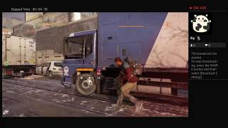 The Division, Part Sixteen, PS4 Live Broadcast, No Commentary, Walkthrough