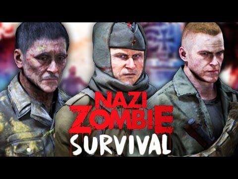 CLASSIC NAZI ZOMBIES IN BLACK OPS 3 ZOMBIES! - CALL OF DUTY CUSTOM ZOMBIES GAMEPLAY! (BO3 Zombies)