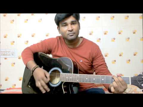 Agayam Theepiditha l Mardas l Guitar Cover with Chords l Srini l Easy way of playing