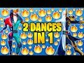 What Happens If Mix Two Fortnite Dances In One...