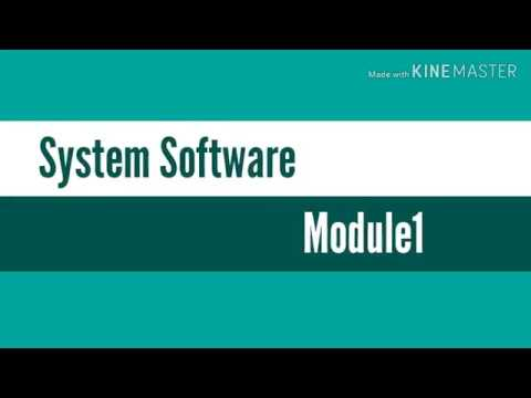 System Software(KTU Syllabus)