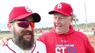 play ball!!! (vol. 6) v3.04 | 2019 ST. LOUIS CARDINALS FANTASY CAMP | a lifestyle vlog