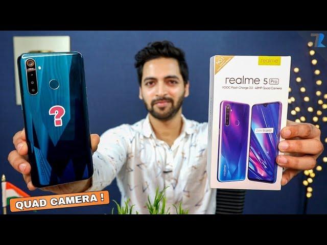 Realme 5 Pro - Unboxing & Hands On   48MP Quad Camera   AB AAYEGA MAZA !💪
