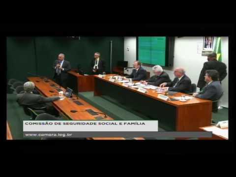SEGURIDADE SOCIAL E FAMÍLIA - Audiência Pública - 08/11/2016 - 10:09
